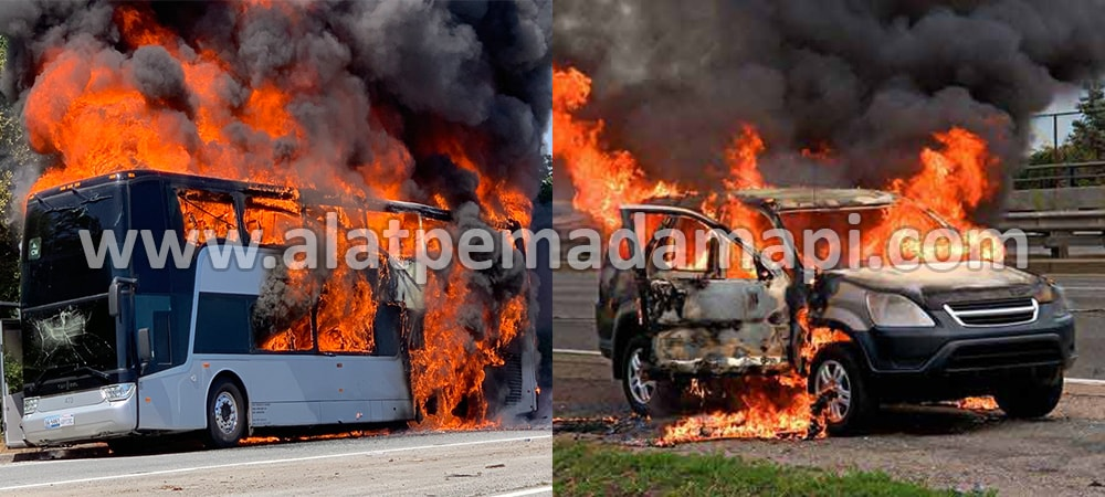 Alat Pemadam Api Kebakaran Ringan (APAR) Terbaik Number One Untuk Bus, Kendaraan Umum, Travel, Pariwisata, Angkutan Umum, Bus Way, Busway, TransJakarta, Trans Jakarta, Kereta