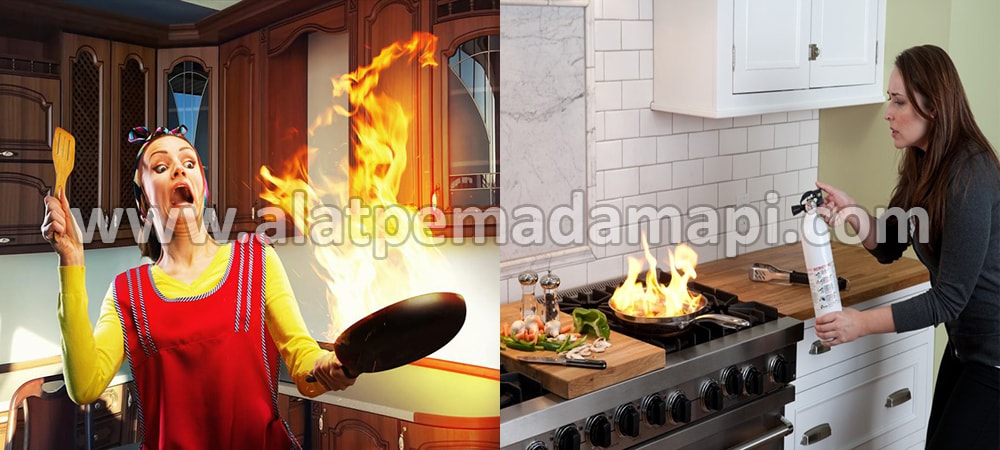 Alat Pemadam Api Kebakaran Ringan (APAR) Terbaik Number One Untuk Rumah Tangga, Dapur, Masak, Memasak, Kitchen