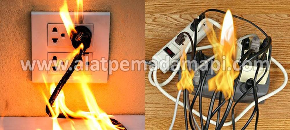 Alat Pemadam Api Kebakaran Ringan (APAR) Terbaik Number One Untuk Listrik, Elektrik, Elektronik, Colokan Listrik, Kabel